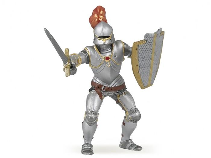 Игровые фигурки Papo Игровая реалистичная фигурка Рыцарь в доспехах успенский э рыцарь в сверкающих доспехах сказочная повесть