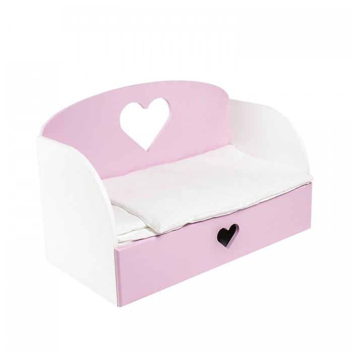 Кроватка для куклы Paremo шкаф Мимими Крошка Мили