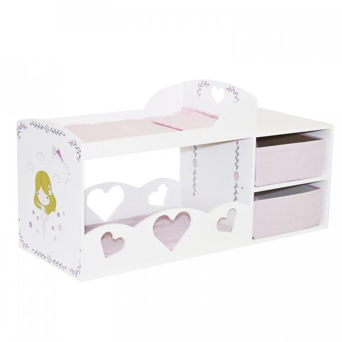 Кроватка для куклы Paremo Мимими Крошка Лали Мини