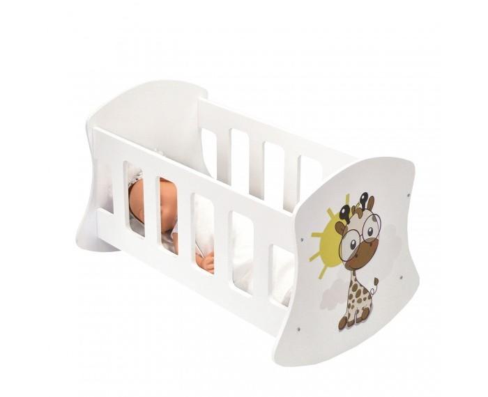 Кроватка для куклы Paremo люлька Мимими Крошка Лео