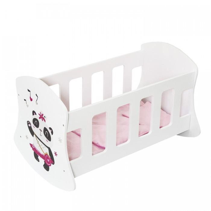 Кроватка для куклы Paremo люлька Мимими Крошка Фафи