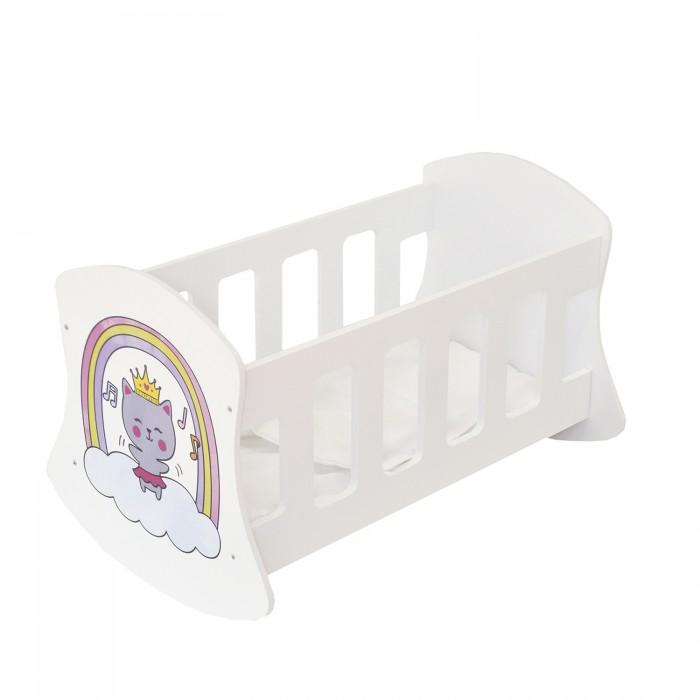 Кроватка для куклы Paremo Люлька Мимими Крошка Дори Мини
