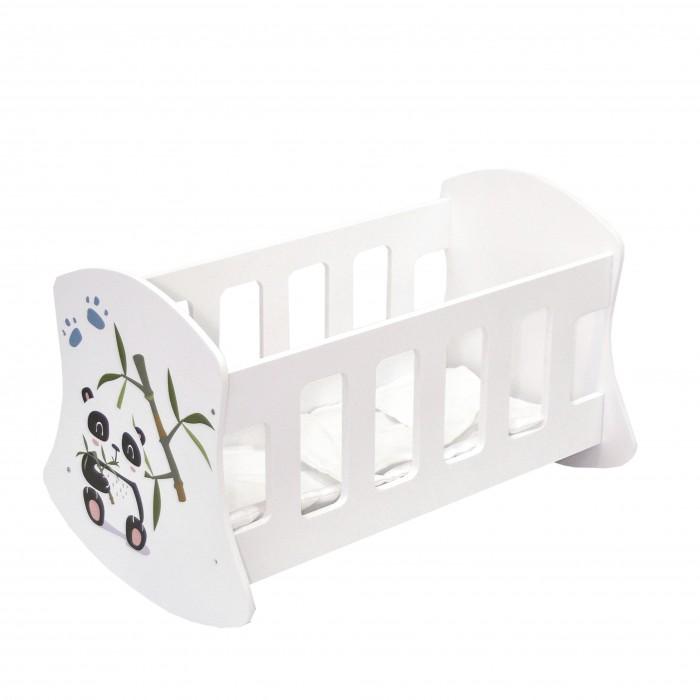 Кроватка для куклы Paremo люлька Мимими Крошка По