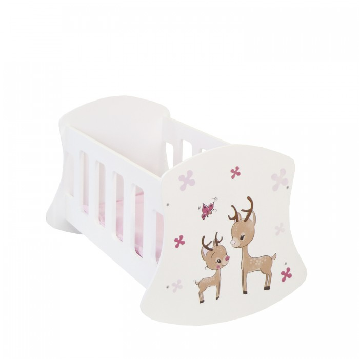 Кроватка для куклы Paremo Люлька Мимими Крошка Зуи Мини