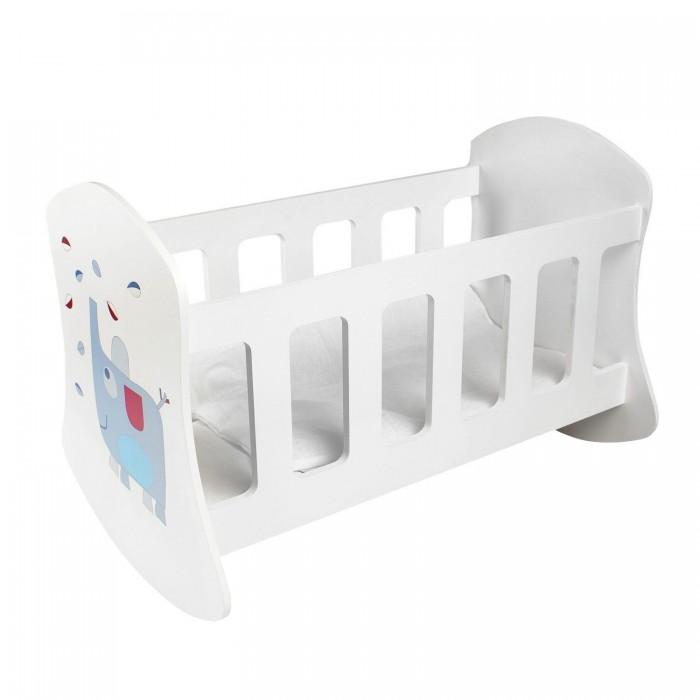 Кроватка для куклы Paremo Люлька Мимими Мими Крошка Би