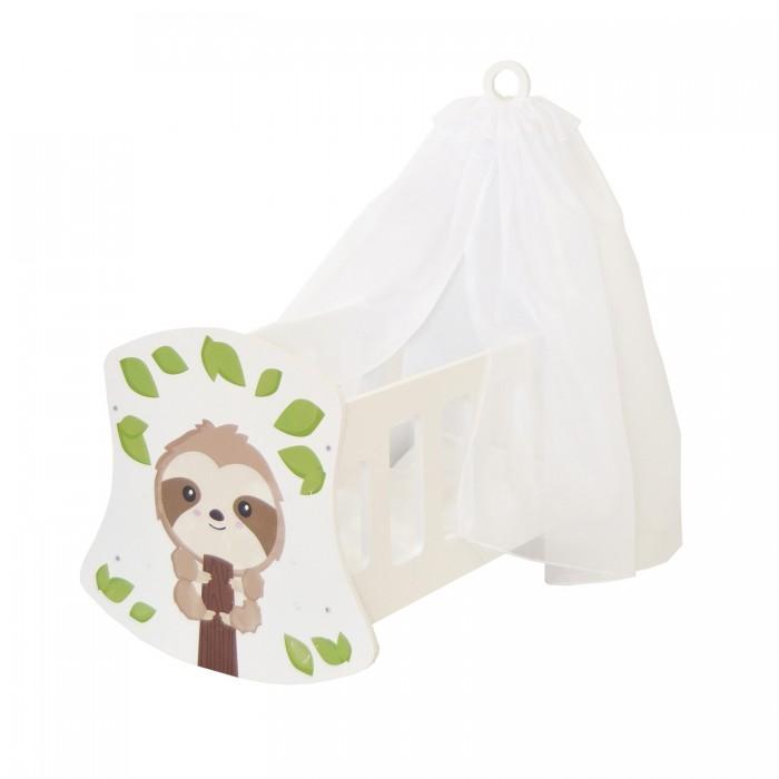 Кроватка для куклы Paremo люлька с балдахином Мимими Крошка Ли