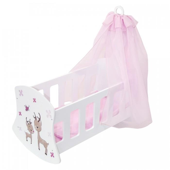 Кроватка для куклы Paremo люлька Мимими Крошка Рони