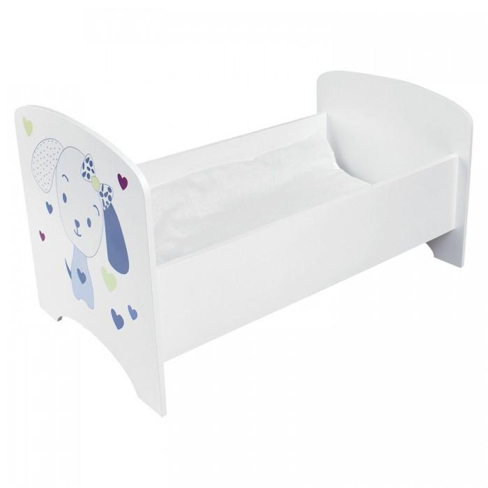 Кроватка для куклы Paremo двухярусная с системой хранения Пьемонт Адриана Мини