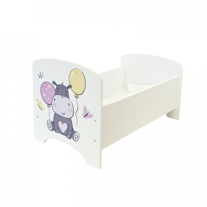 Кроватка для куклы Paremo Мимими Крошка Лия Мини
