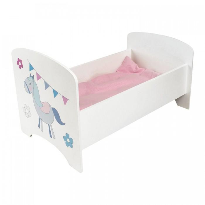 Кроватка для куклы Paremo Люлька Любимая кукла Мини