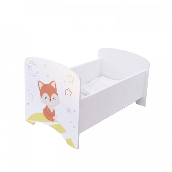 Кроватка для куклы Paremo люлька Мимими Крошка Мили