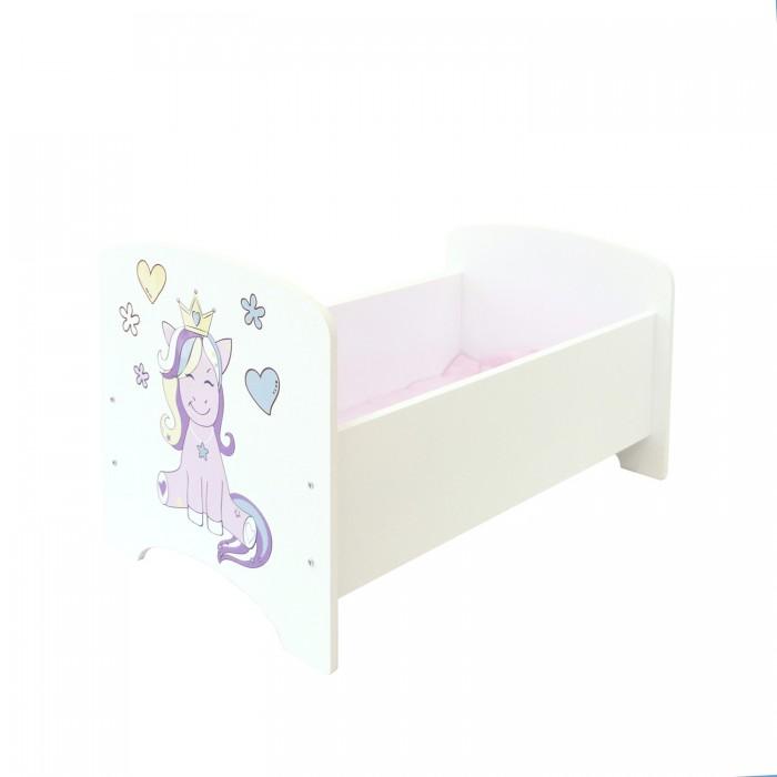 Кроватка для куклы Paremo Мимими Крошка Мили Мини