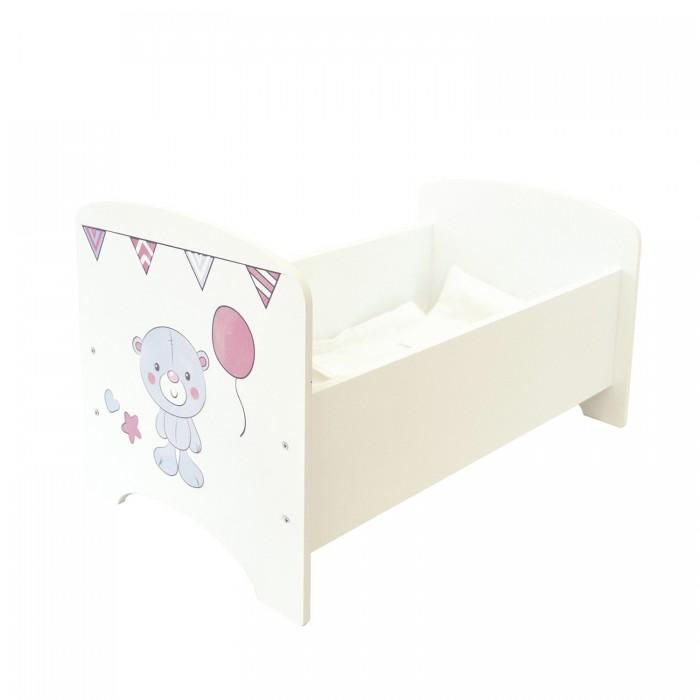 Кроватка для куклы Paremo Мимими Крошка Рони Мини