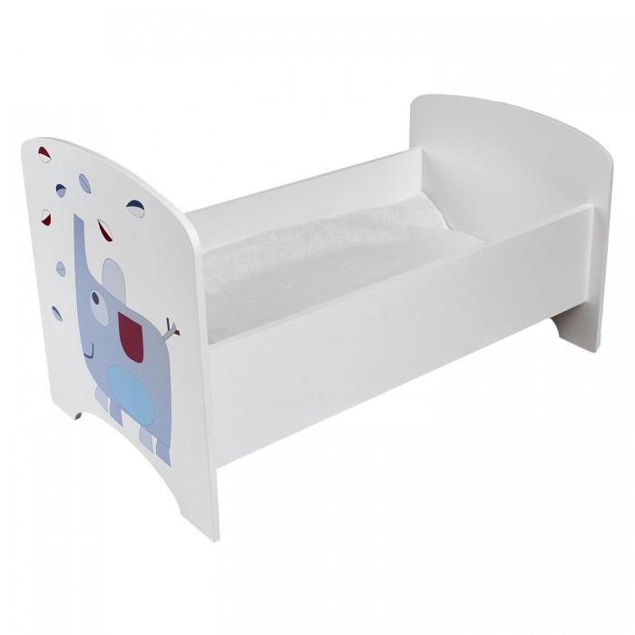 Кроватка для куклы Paremo Мимими Крошка Ли Мини