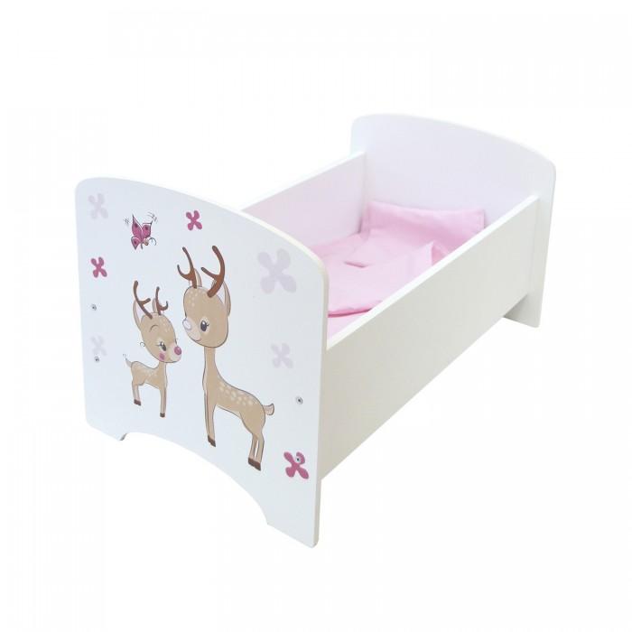 Кроватки для кукол Paremo Мимими Крошка Зуи