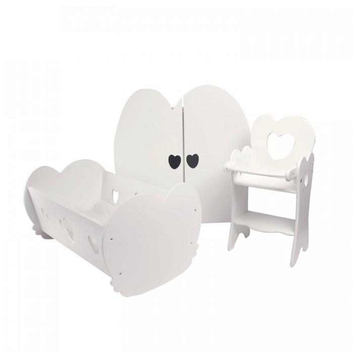 Купить Кукольные домики и мебель, Paremo Набор кукольной мебели 3 предмета PFD120