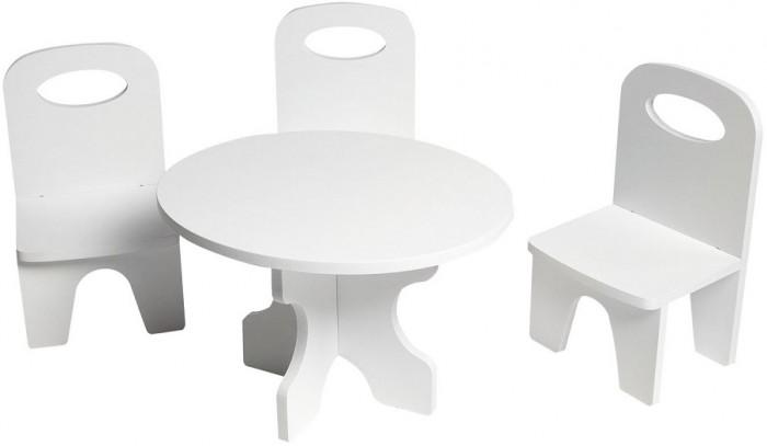 Купить Кукольные домики и мебель, Paremo Набор мебели для кукол Классика (стол + стулья)
