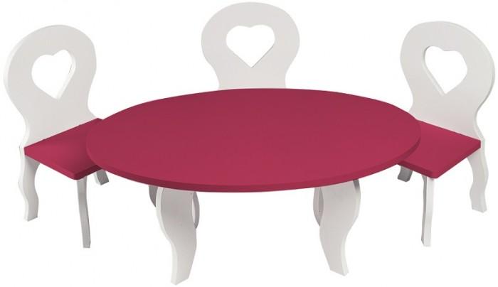 Купить Кукольные домики и мебель, Paremo Набор мебели для кукол Шик (стол + стулья)