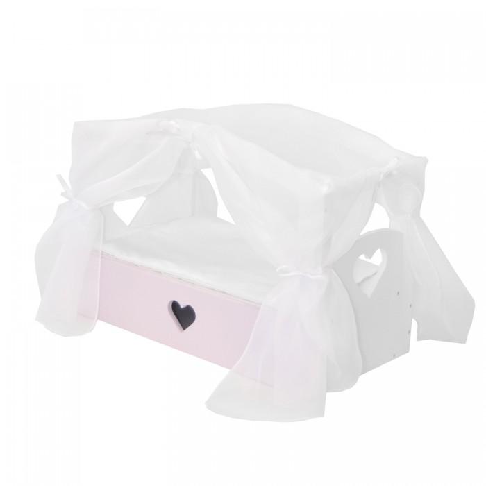 Купить Кроватки для кукол, Кроватка для куклы Paremo с бельевым ящиком Любимая кукла Мини