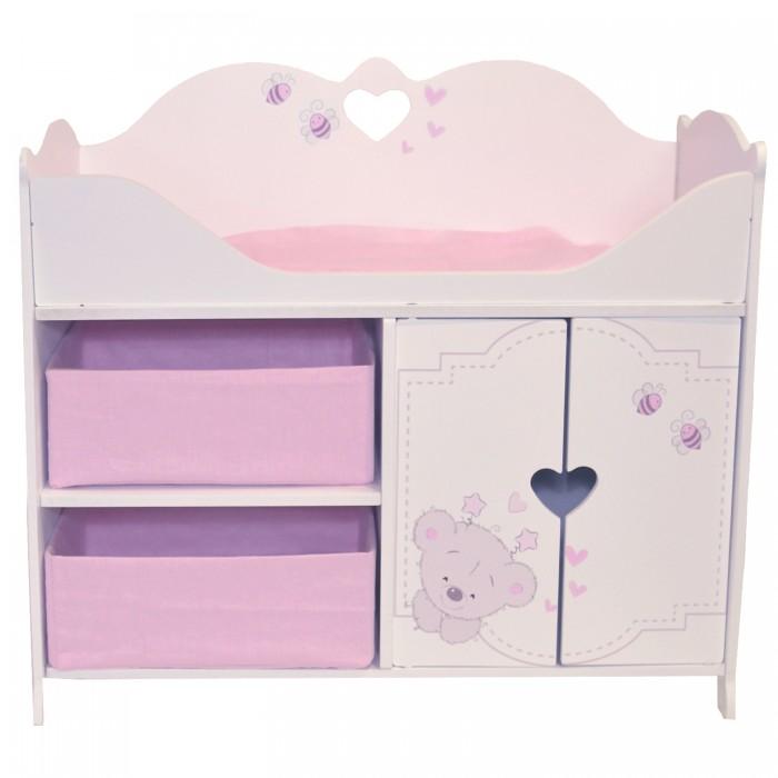 Кроватка для куклы Paremo шкаф Рони стиль 1