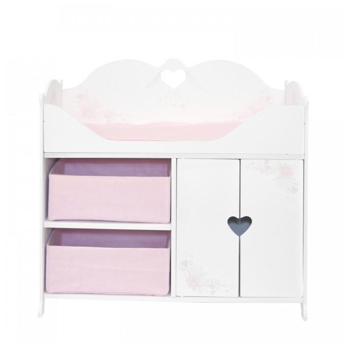 Кроватка для куклы Paremo Люлька с балдахином Мимими Крошка Ми Мини