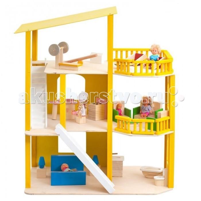 Paremo Домики для мини-кукол PD216Домики для мини-кукол PD216Paremo Домики для мини-кукол 12 см - это сказочно-прекрасный домик для маленьких принцесс и их кукольных придворных.   О таком кукольном доме действительно мечтает каждая девочка, поскольку выполнен он в ярком дизайне и украшен стильными интерьерными аксессуарами. Этот дворец, безусловно, станет местом, в которое кукольной семье захочется возвращаться снова и снова. Нестандартно контрастная яркая расцветка кукольного домика делает его универсальной сюжетной игрушкой для самых юных модниц.  Особенности: игрушка 100% деревянная, ни одного пластикового элемента в каркасе и мебели относится к типу открытых домиков (свободный доступ ко всем помещениям для удобства игры)  в домике 3 этажа, 5 комнат и большой балкон:  - на первом этаже – ванная комната и кукольная спальня  - на втором этаже – кухня и гостиная  - на третьем этаже – спортивно-игровая комната и балкон с зоной релакс  Сюжетно-ролевая игра способствует развитию фантазии и воображения, творческого и логического мышления, речи и навыков общения. Это увлекательное занятие развивает чувство ответственности, помогает ребенку почувствовать себя взрослым и самостоятельным. В процессе игры вырабатываются ловкость и слаженность движений рук, мелкая моторика и координация.  В комплекте: домик 21 предмет кукольной мебели инструкция по сборке  гарантийный сертификат   Куклы, домашние питомцы и текстиль в комплект не входят.<br>