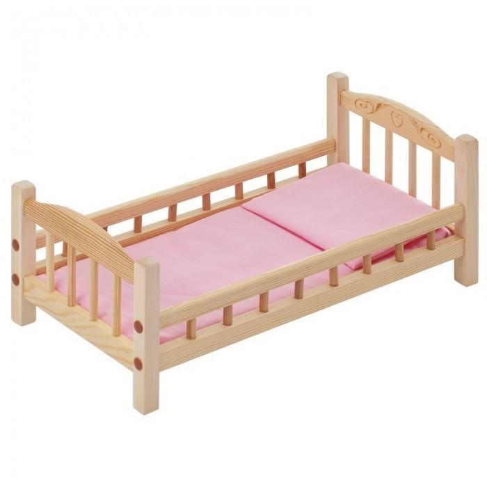 Кукольные домики и мебель Paremo Классическая кроватка для куклы