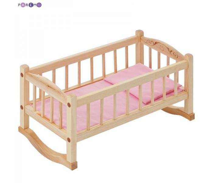 Кукольные домики и мебель Paremo Кроватка-люлька для куклы paremo кроватка люлька для куклы