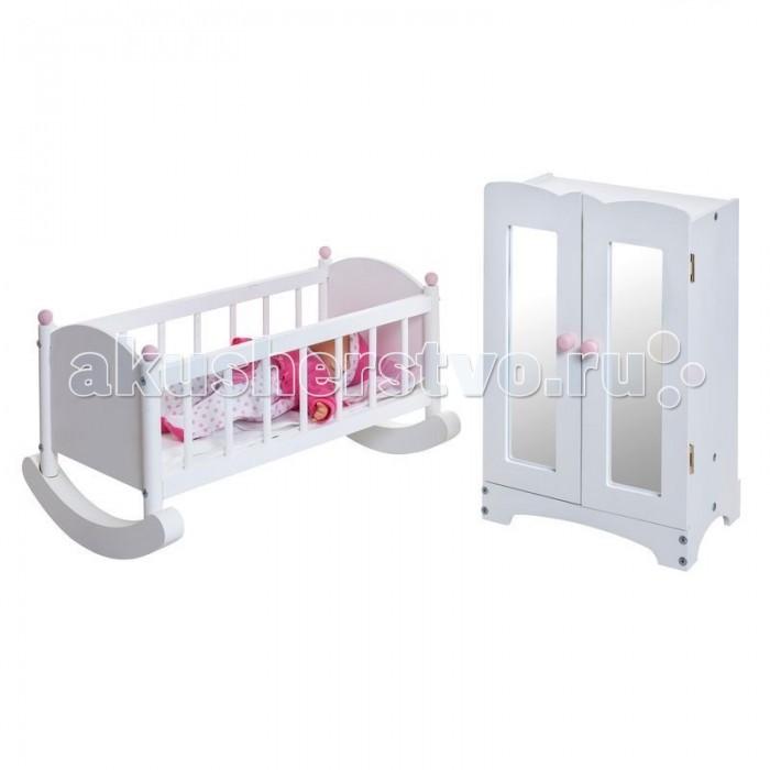 Paremo Набор кукольной мебели (шкаф+люлька)