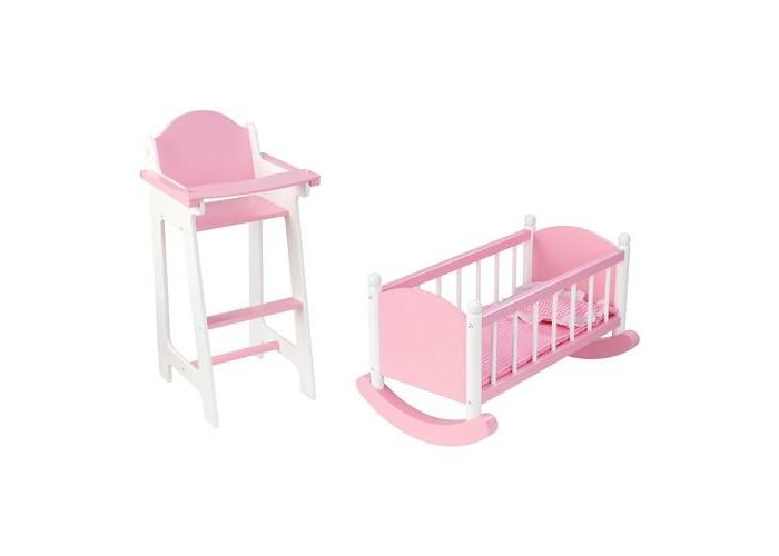 Кукольные домики и мебель Paremo Набор кукольной мебели (шкаф+люлька), Кукольные домики и мебель - артикул:242707