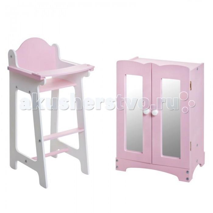 Кукольные домики и мебель Paremo Набор кукольной мебели (шкаф+стул), Кукольные домики и мебель - артикул:242722