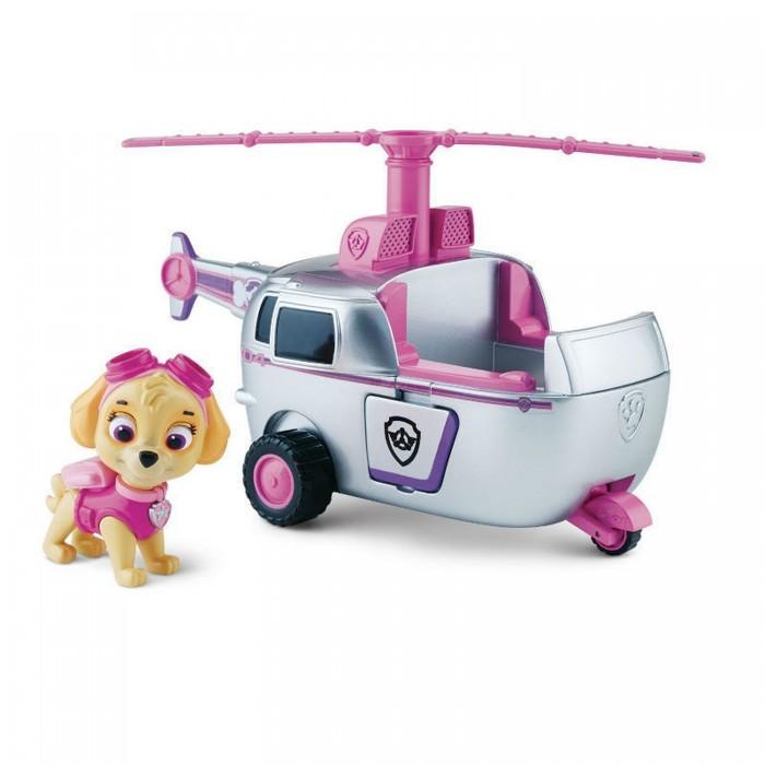 Игровые наборы Щенячий патруль (Paw Patrol) Машинка спасателя и щенок игрушка paw patrol маленькая машинка спасателя