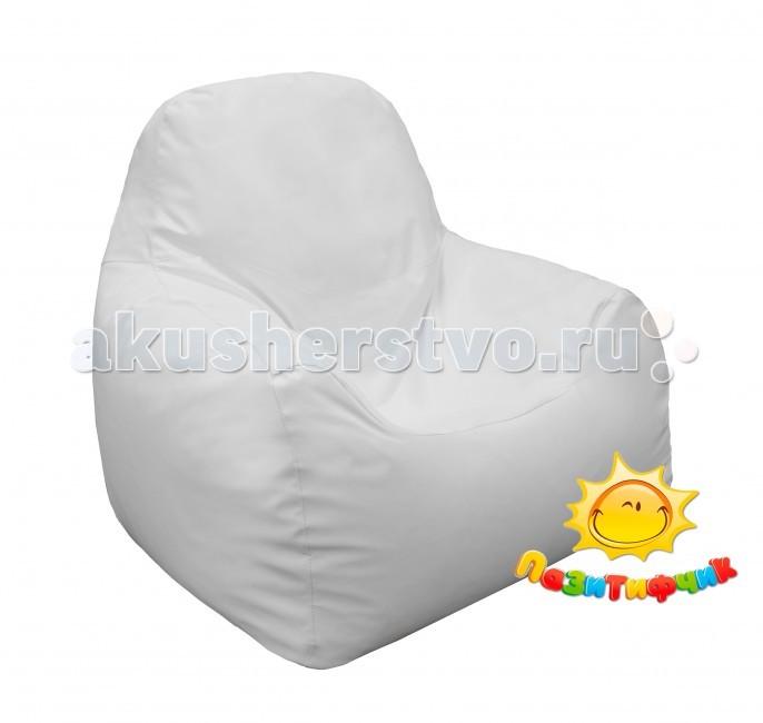 Детская мебель , Мягкие кресла Пазитифчик Мягкое кресло Комфорт экокожа 90х90 арт: 65620 -  Мягкие кресла