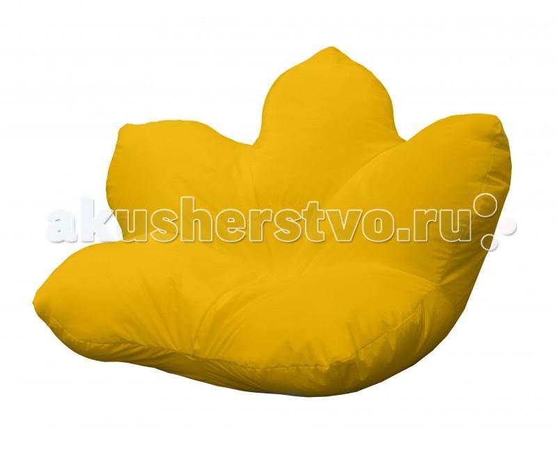 Мягкие кресла Пазитифчик Кресло-мешок Цветок оксфорд 170х170
