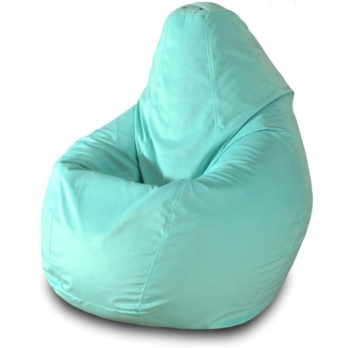 Детская мебель , Мягкие кресла Пазитифчик Мешок Груша велюр 90х80 арт: 319004 -  Мягкие кресла