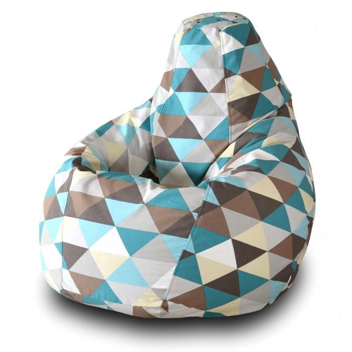 Детская мебель , Мягкие кресла Пазитифчик Мешок Груша жаккард 110х85 арт: 318914 -  Мягкие кресла