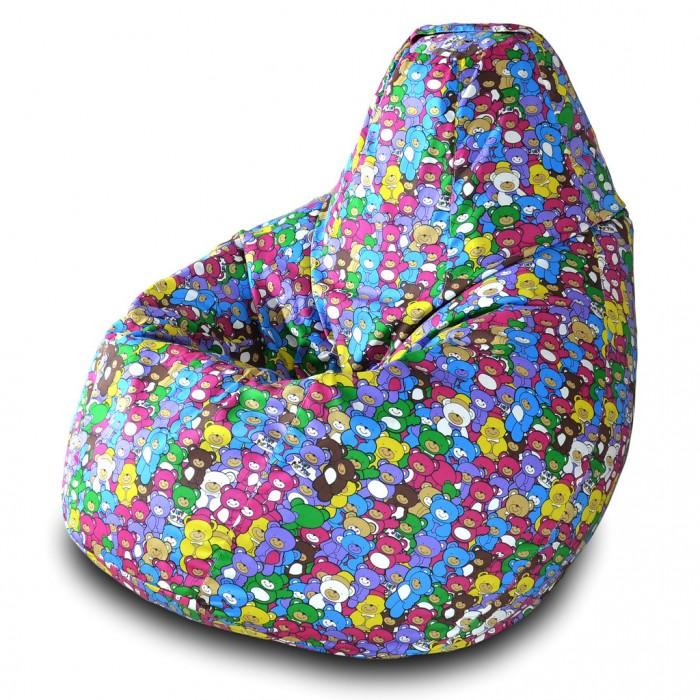 Детская мебель , Мягкие кресла Пазитифчик Мешок Груша жаккард 90х80 арт: 318904 -  Мягкие кресла