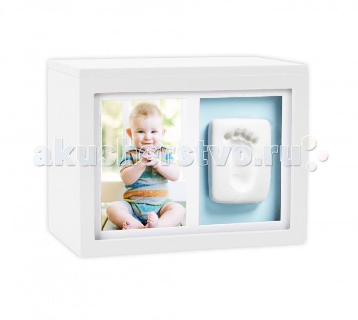 Детская мебель , Фотоальбомы и рамки Pearhead Рамочка с шкатулкой Воспоминаний арт: 441689 -  Фотоальбомы и рамки