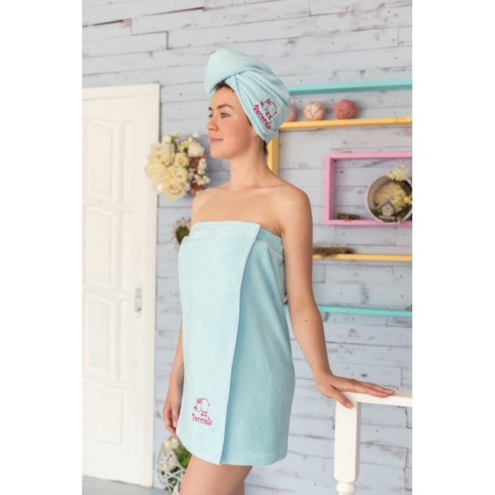 Полотенца Pecorella Полотенце на липучке взрослое полотенца банные pecorella полотенце на липучке от pecorella голубое