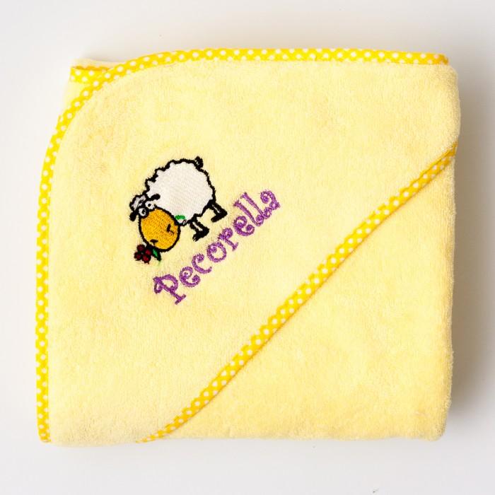 Полотенца Pecorella Полотенце с капюшоном 90х90 см полотенца candide полотенце с капюшоном бежевые тона 75х75 см