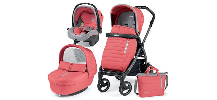 Коляска Peg-perego Book Pop Up Elite Completo Modular System 3 в 1