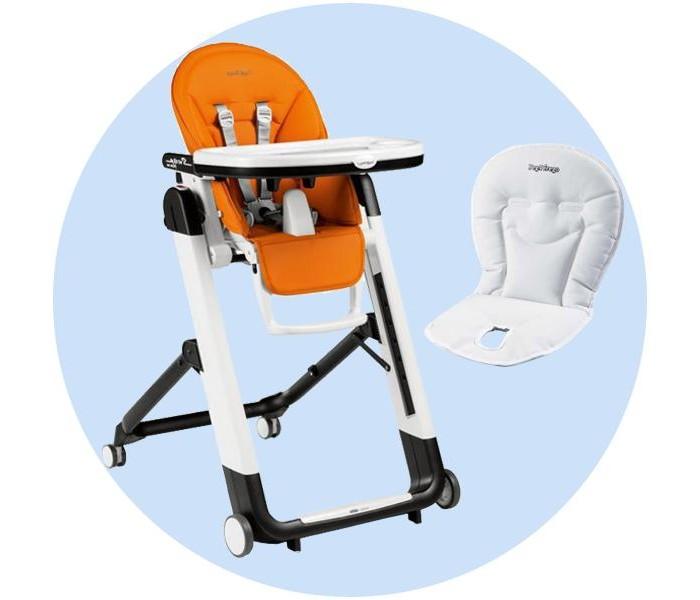Купить со скидкой Стульчик для кормления Peg-perego Siesta Follow Me с вкладышем Baby Cushion