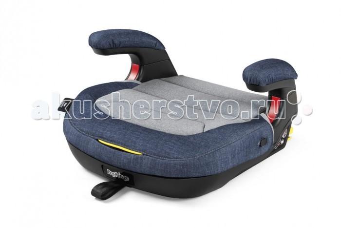 Бустер Peg-perego Viaggio 2-3 ShuttleViaggio 2-3 ShuttleДетское автокресло Peg-Perego Viaggio 2-3 Shuttle - автомобильное кресло-бустер для безопасной и комфортной перевозки ребенка в автомобиле. Подходит для возрастной группы от 3 до 12 лет. Детское кресло в авто сконструировано в виде компактного бустера с анатомической подушкой из «дышащих» материалов.  Особенности детского автокресла Peg-Perego Viaggio 2-3 Shuttle: Бустер фиксируется стационарным ремнем, для более прочной фиксации используется крепление Isofix, интегрированное в сиденье. Благодаря надежному креплению детский бустер остается устойчивым на поворотах и во время торможения. Изготовлено из плотных, но не жестких материалов. Подушка анатомической формы позволяет ребенку комфортно расположиться в поездках на дальние расстояния. Сконструировано из полистирола - материала, который гасит силу удара. Проведены краш-тесты на устойчивость во время движения. Для удобства ребенка бустер оснащен подлокотниками. Размеры и вес Peg-Perego Viaggio 2-3 Shuttle: Размеры автокресла (д х в х ш) минимальные: 44 x 24 x 40,5 см.; Вес: 3 кг.<br>