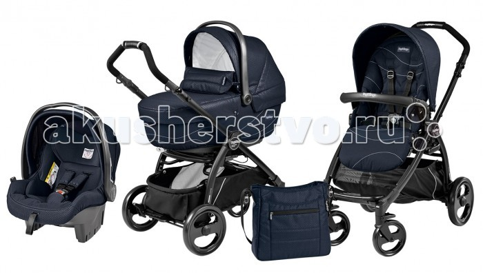 Коляска Peg-perego Book Pop-Up Set XL Sportivo Modular System 3 в 1, Коляски 3 в 1 - артикул:22860