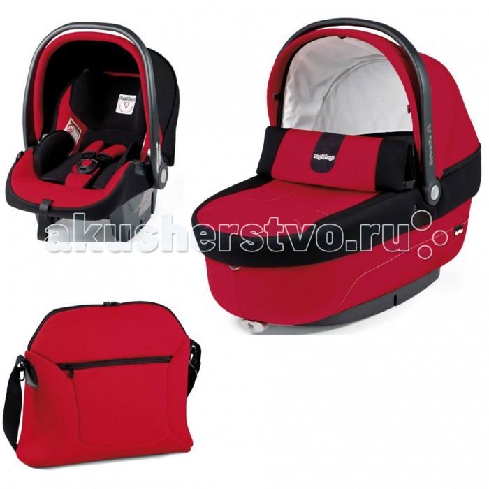 Детские коляски , Люльки Peg-perego Комплект Modular Set (люлька Navetta XL+ автокресло Primo Viaggio + сумка Borsa mamma) арт: 29524 -  Люльки