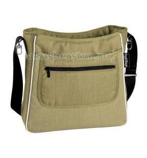 Peg-perego Сумка для коляски Borsa MammaСумка для коляски Borsa MammaСтильная сумка крепится на ручку коляски. Есть карман для детских вещей.  Размеры: 32х42х13 см.<br>