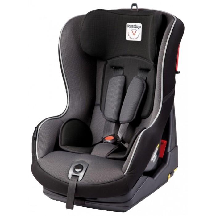 Автокресло Peg-perego Viaggio 1 Duo Fix TT (Alcantara)Viaggio 1 Duo Fix TT (Alcantara)Автокресло Viaggio 1 Duo Fix TT (Alcantara) относится к группе I, то есть, рассчитано для детей умеющих хорошо сидеть, а значит на возраст примерно от 9-ти месяцев и до 4,5-ой лет (от 9-ти до 18-ти кг).  Особенности: одобрено европейской комиссией безопасности согласно правилам ЕЭК ООН №44 и отвечает европейским нормам безопасности согласно стандарту ECE R 44/04 структура сделана из PP-AUTO, особого полипропилена, используемого для создания защитных приспособлений для автомобиля опора для головы и анатомическая подушка сделаны из микрофибры Crystal, мягкой и дышащей ткани EPS (Expanded Polystyrene) - материал, поглощающий силу удара Ремни безопасности крепятся в 5 точках, благодаря особой системе блокировки можно менять их положение на сидении, регулируя ремни под Вашего малыша. Лямки ремней безопасности также регулируются. Плечевые накладки на ремнях. Дополнительный мягкий вкладыш для самых маленьких. Сиденье имеет 4 положения наклона, обеспечивая ребенку комфорт и отдых в самых долгих поездках, а также во время сна. Обивка съемная, допустима стирка в деликатном режиме.  Крепление: С помощью штатных ремней в автомобиле. С помощью разъемов Isofix и Top Tether крепления  Установка: лицом к дороге на заднем сидении автомобиля или на переднем сидении при выключенной подушке безопасности.<br>