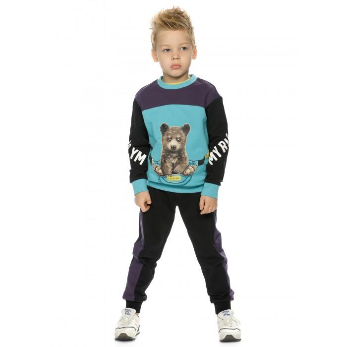 Фото - Комплекты детской одежды Pelican Комплект для мальчиков (свитшот, брюки) BFANP3192 комплекты детской одежды pelican комплект для мальчиков джемпер брюки bfajp1203