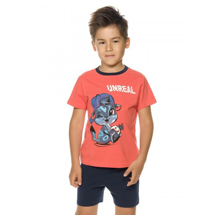 Фото - Комплекты детской одежды Pelican Комплект для мальчиков (футболка, шорты) BFATH3193 комплекты детской одежды pelican комплект для мальчиков джемпер брюки bfajp1203