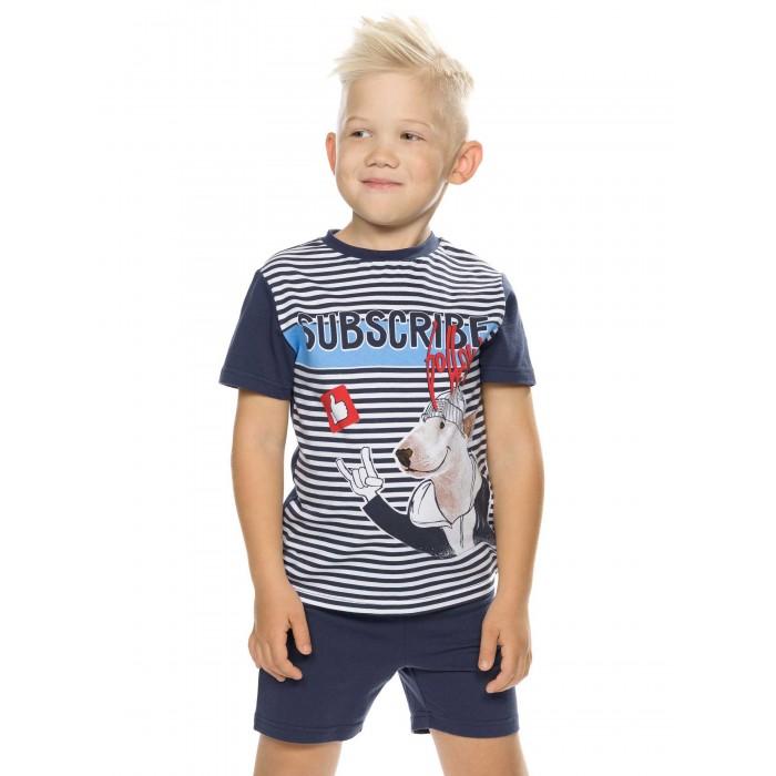 Фото - Комплекты детской одежды Pelican Комплект для мальчиков (футболка, шорты) BFATH3194 комплекты детской одежды pelican комплект для мальчиков джемпер брюки bfajp1203